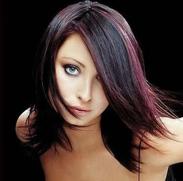 Схема колорирования волос как