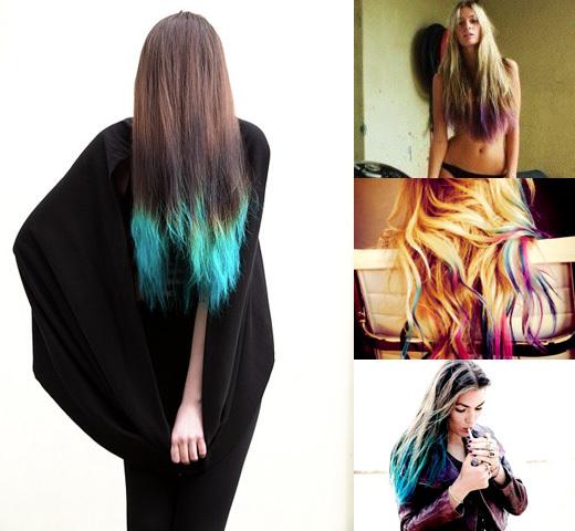Как сделать кончики волос светлее фото 107