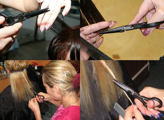 Как сделать ножницы для стрижки